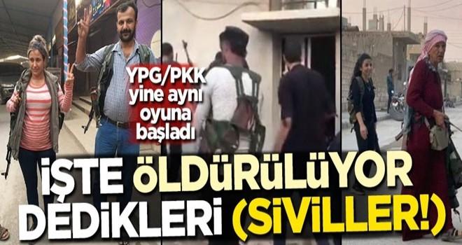 YPG/PKK yine aynı oyuna başladı! İşte öldürülüyor dedikleri (siviller!)