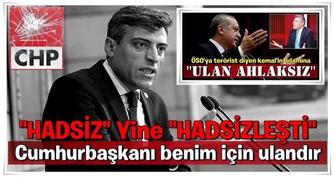 CHP'li Öztürk Yılmaz: Cumhurbaşkanı benim için ulandır