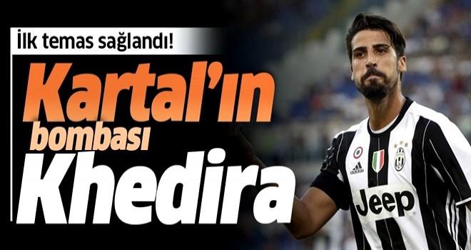 Beşiktaş Khedira'ya kancayı attı .