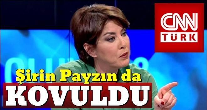 CNN Türk, Şirin Payzın'ın görevine son verdi