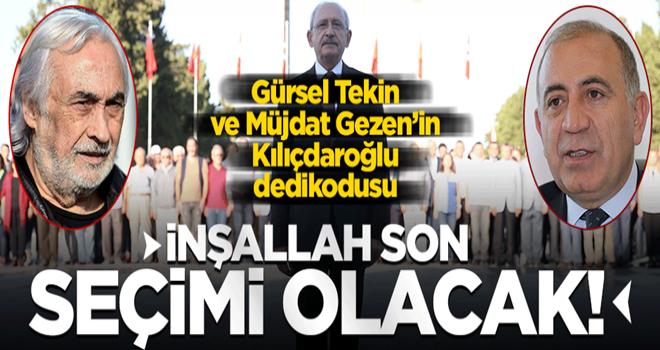 Gürsel Tekin ile Müjdat Gezen arasında 'Kılıçdaroğlu' dedikodusu! İnşallah gider...