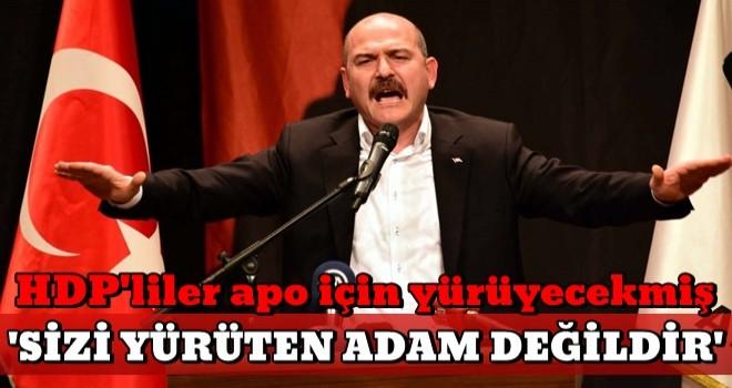 Bakan Soylu açıkladı: HDP'lilerin yürüyüşüne izin yok