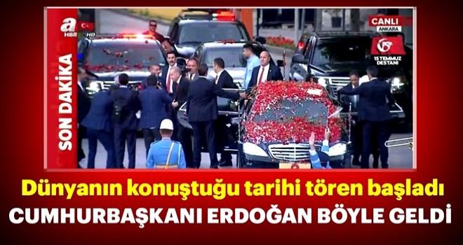 Cumhurbaşkanı Erdoğan TBMM'de...