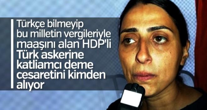 Terör partisi HDP sınırı iyice aştı! Kahraman Mehmetçik'e alçak sözler