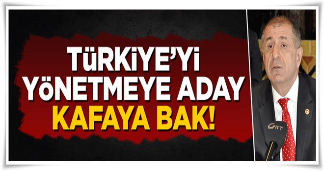 Türkiye'yi yönetmeye aday kafaya bak!