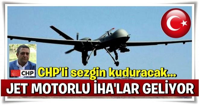 Jet motorlu İnsansız Hava Araçları geliyor