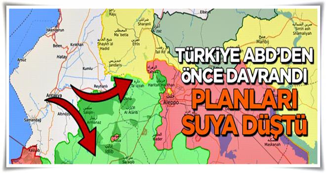 Planları suya düştü: ABD'den önce Türkiye müdahale etti