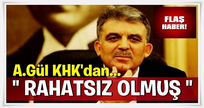 Abdullah Gül'den KHK yorumu! Kaygı verici