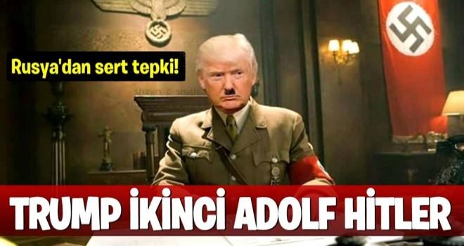Trump ikinci bir Adolf Hitler'dir...