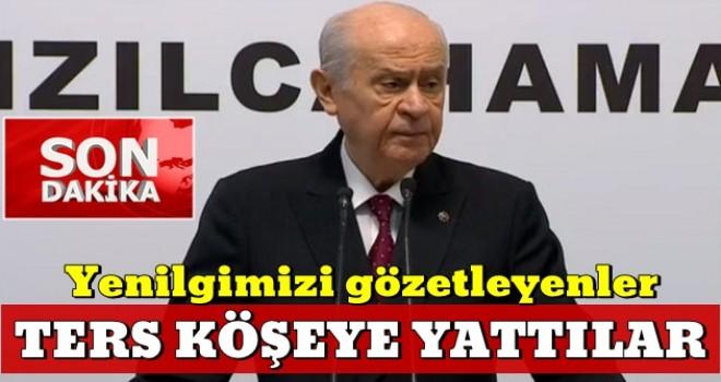 MHP Genel Başkanı Bahçeli: '31 Mart'ta Türk Milleti bekasına sonuna kadar sahip çıktı'
