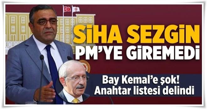 Kılıçdaroğlu'nun listesindeki 9 kişi PM'ye giremedi .