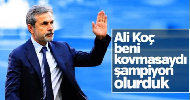Aykut Kocaman'ın aklı Fenerbahçe'de