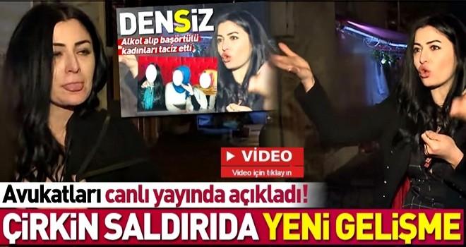 Saldırıya uğrayan başörtülü kadınlardan Deniz Çakır'a suç duyurusu