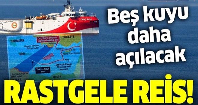Türkiye Akdeniz'de Navtex ilan etti: Rastgele Oruç Reis