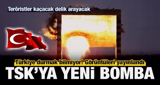 Milli Nüfuz Edici Bomba'nın (NEB) yeni görüntüleri
