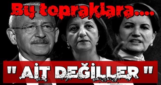 AK Partili isim muhalefete yüklendi: CHP ve yanında hizalanan HDP'yi, İYİ Parti'yi iyi anlatacağız