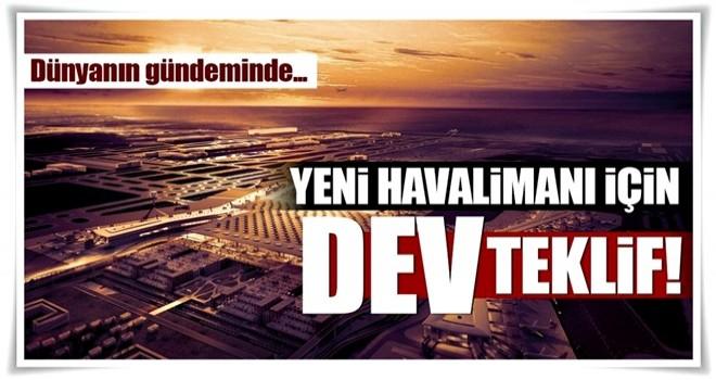 Hollandalı şirketten İstanbul Yeni havalimanı için teklif