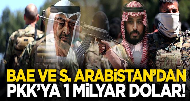 BAE ve S. Arabistan'dan PKK'ya 1 milyar dolar!