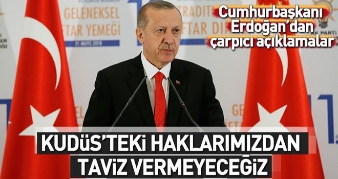 Cumhurbaşkanı Erdoğan büyükelçilerle iftar buluşmasında konuştu .