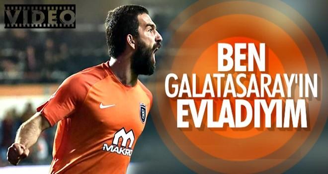 Arda Turan: Ben Galatasaray taraftarıyım