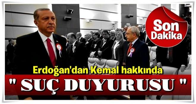 Cumhurbaşkanı Erdoğan, Kılıdaroğlu'nun Sözlerinin Ardından Suç Duyurusunda Bulundu