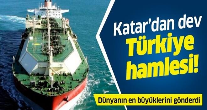 Katar'dan dev Türkiye hamlesi! Dünyanın en büyüklerini gönderdi .