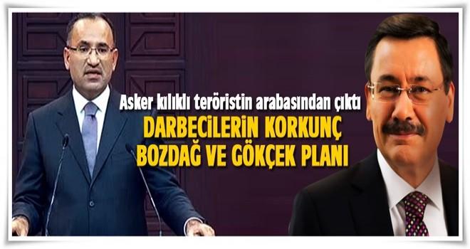 Bekir Bozdağ ve Melih Gökçek'i kaçırma planı eski Jandarma Kurmay Yarbay Ali Bozgeyik'in arabasından çıktı