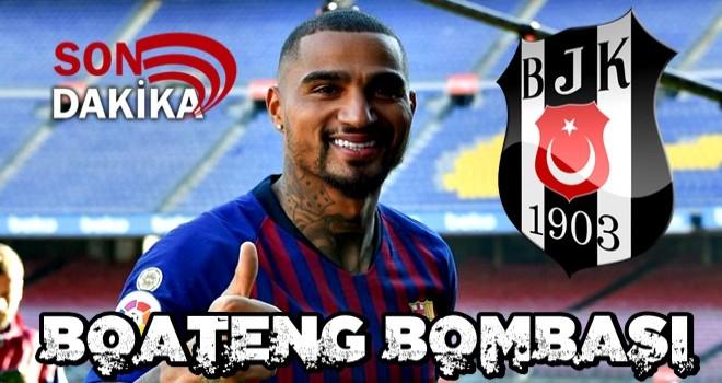 Beşiktaş, Kevın-Prınce Boateng'i kiralık olarak kadrosuna kattı