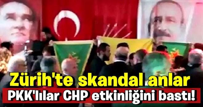 PKK'lılar CHP etkinliğini bastı! Kavgaya tutuştular