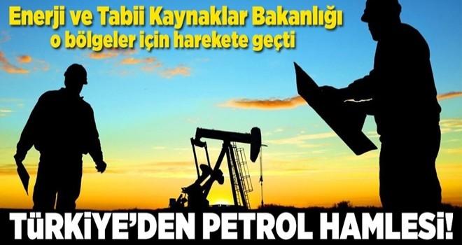 Türkiye'den petrol hamlesi! İzin çıktı .
