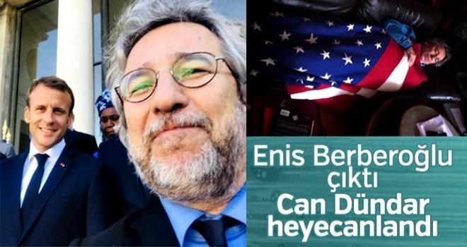 Jon Dündar'ın Enis Berberoğlu mutluluğu