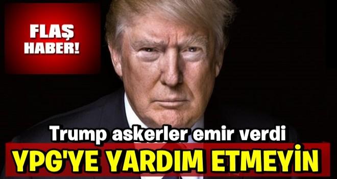 Son Dakika: Operasyon başladı! Trump'tan ABD ordusuna YPG talimatı