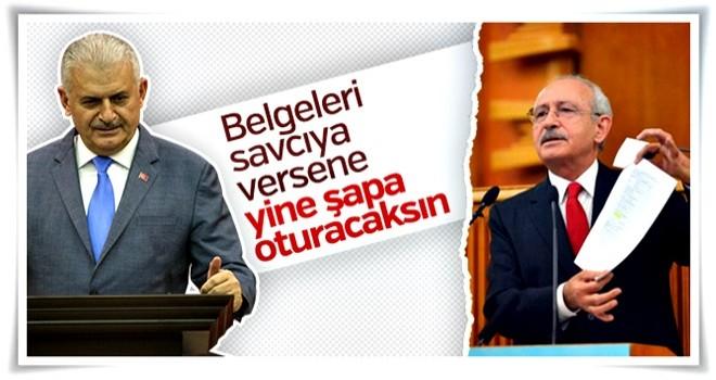 Binali Yıldırım'dan Kılıçdaroğlu'na tepki