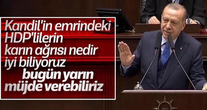 Başkan Erdoğan: Kandil'den talimat alanlarla ilgili müjde var