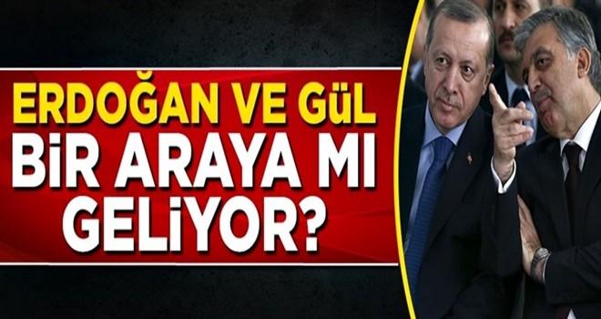 Cumhurbaşkanı Erdoğan ve Abdullah Gül bir araya mı geliyor?