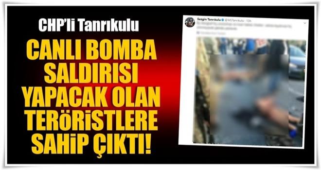 Tanrıkulu, o PKK'lılara da sahip çıktı