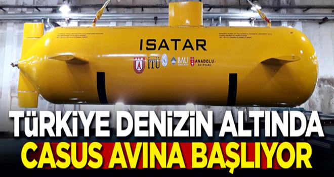 Türkiye denizin altında casus avına başlıyor