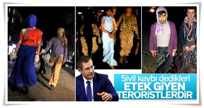Nurettin Canikli siviller vuruluyor yalanına cevap verdi