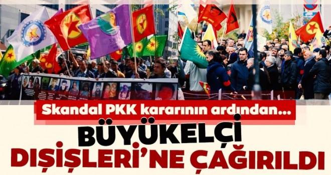 Son Dakika: Türkiye'den Belçika'ya nota