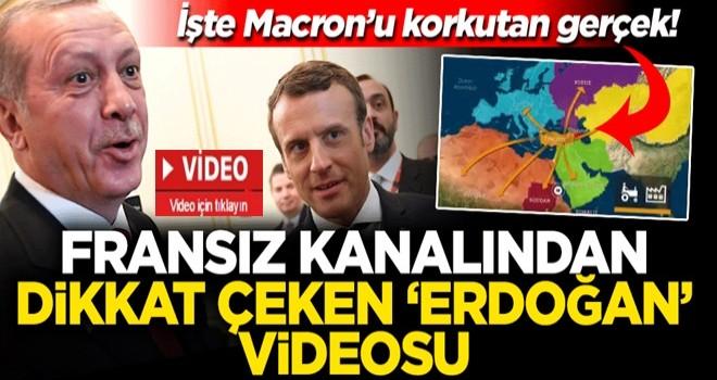 Fransız kanalı Macron'un Erdoğan'dan korkma sebebini açıkladı!