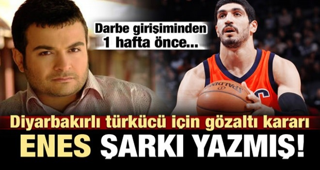 Diyarbakırlı türkücü için gözaltı kararı!