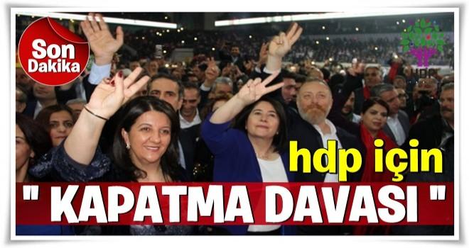 Vatan Partisi'nden HDP hakkında kapatma başvurusu