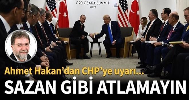 Ahmet Hakan'dan CHP'ye fotoğraf uyarısı!