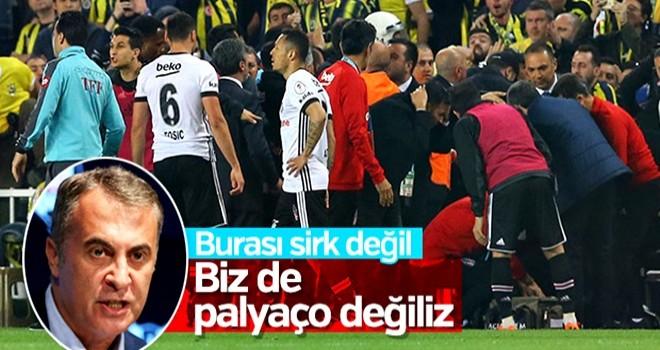 Beşiktaş: TFF'nin aldığı kararlar tutarsız