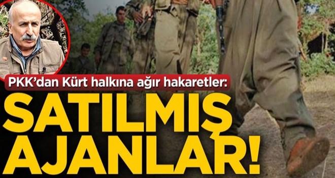 PKK'dan Kürt halkına ağır hakaretler! 'Satılmış ajanlar'