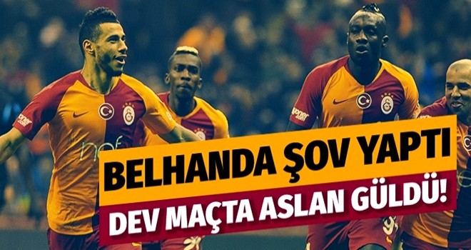 Galatasaray evinde Trabzonspor'u 3-1 yendi