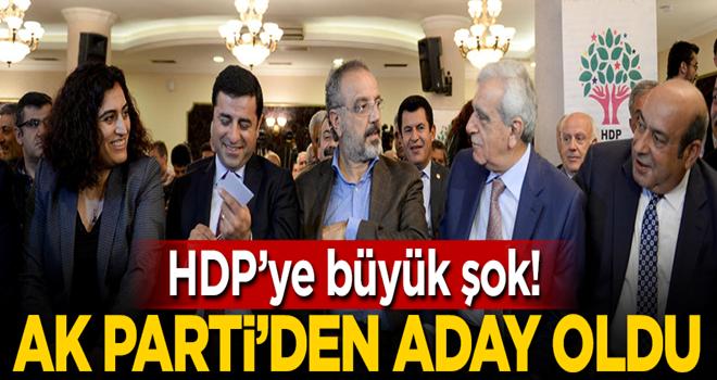 HDP'li vekilin ağabeyi AK Parti'yi seçti!