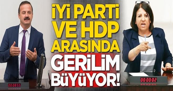 İYİ Parti ile HDP arasında gerilim büyüyor!