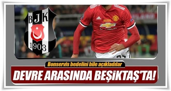 Fellaini devre arasında Beşiktaş'ta!