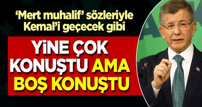 Davutoğlu yine boş konuştu! Hükümete 'yüz yüze eğitim' eleştirisi